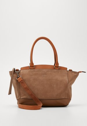 FIGHTER - Handbag - light brown