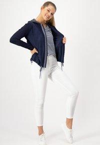 JUST WHITE - Summer jacket - marine uni - 1