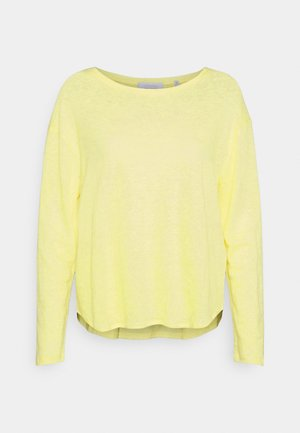 LONGSLEEVE - Long sleeved top - lemonade