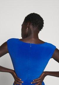 Lauren Ralph Lauren - CLASSIC LONG GOWN - Vestido de fiesta - portuguese blue - 5