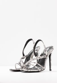 Glamorous Wide Fit - High heeled sandals - grey - 4