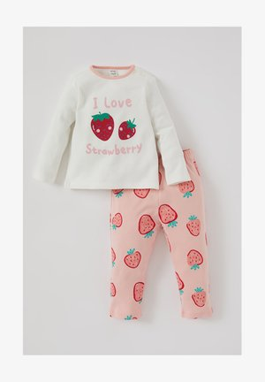 SET - Pyjama bottoms - ecru
