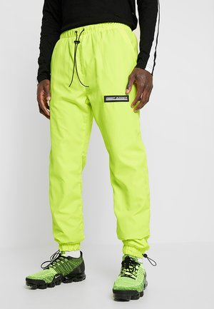 NAYORK - Tracksuit bottoms - neon yellow