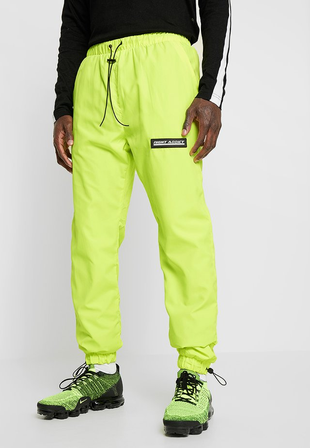 NAYORK - Pantalon de survêtement - neon yellow