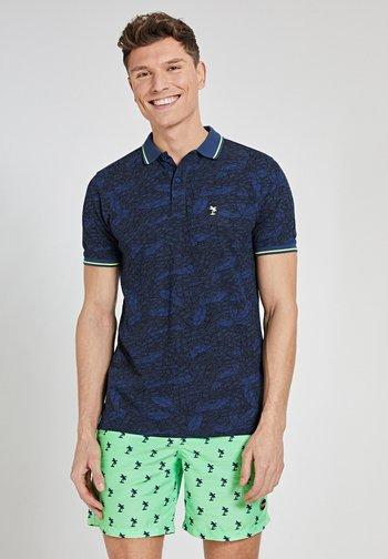 Polo shirt - misty blue