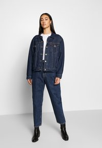 Weekday - MEG HIGH MOM WASHED BACK - Jeans straight leg - win blue - 1