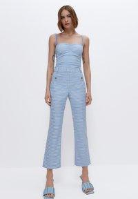 Uterqüe - Trousers - light blue - 1