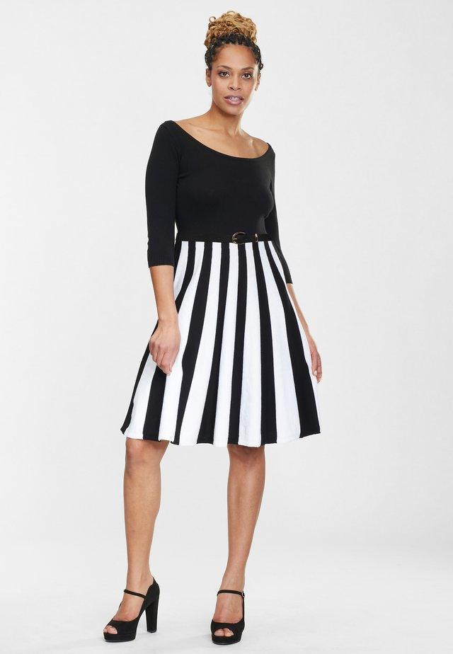 SERENA - Jumper dress - black