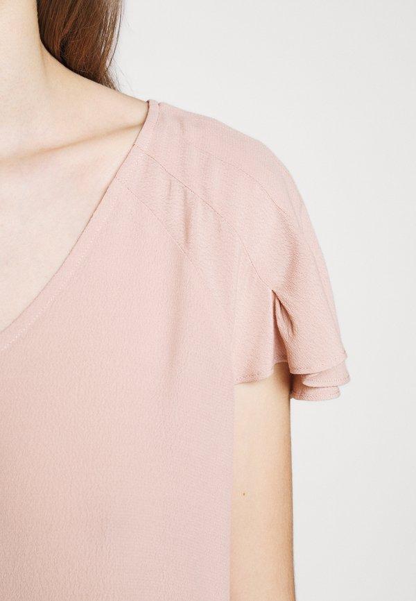 Bruuns Bazaar LILLI ABELINE - Bluzka - cream rose Kolor jednolity Odzież Damska YKND UT 7