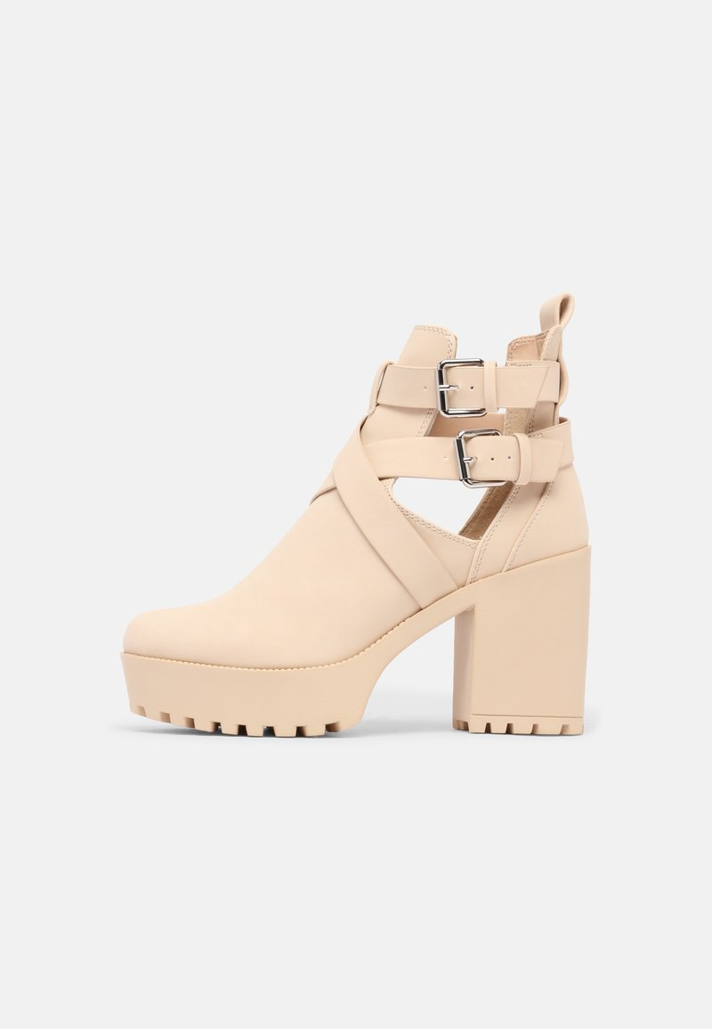 Even&Odd - Classic ankle boots - sand