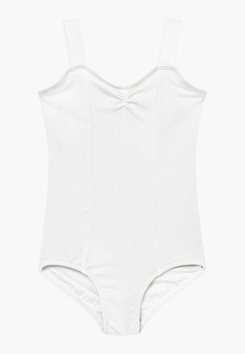 BALLET WIDE STRAP LEOTARD - Leotard - white