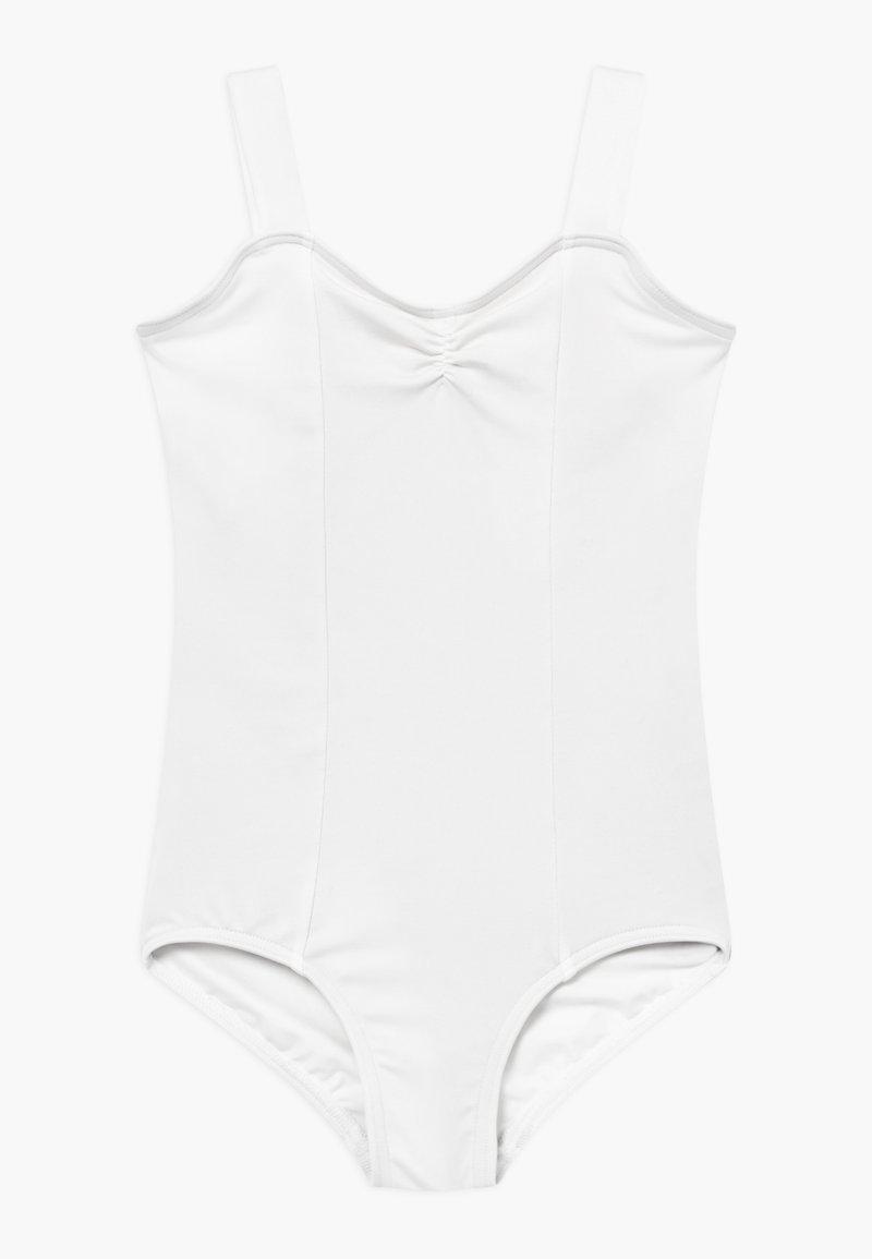 Capezio - BALLET WIDE STRAP LEOTARD - trikot na gymnastiku - white