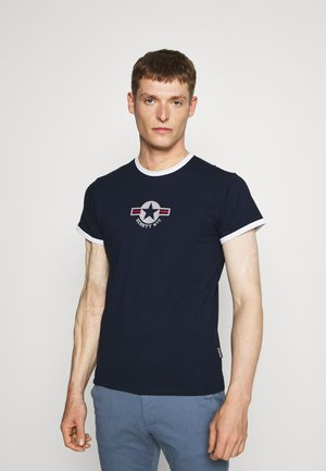 TSRANKS - Print T-shirt - navy