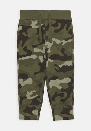 TODDLER BOY - Pantalones deportivos - green