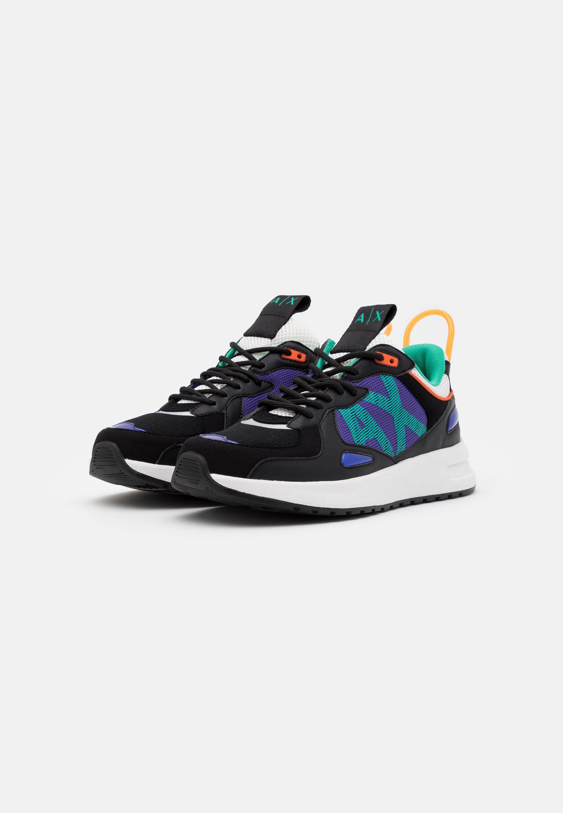Armani Exchange Sneakers - Black/teal