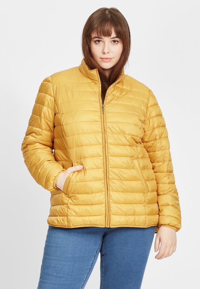 Vinterjakke - dark yellow