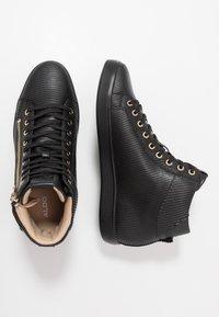 ALDO - KECKER - Sneakersy wysokie - black - 1