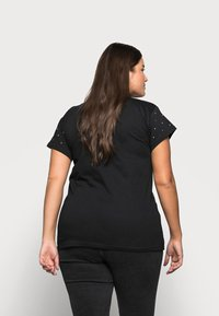 New Look Curves - BLING - Print T-shirt - black - 2