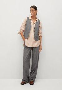 Mango - NETA - Button-down blouse - nude - 1