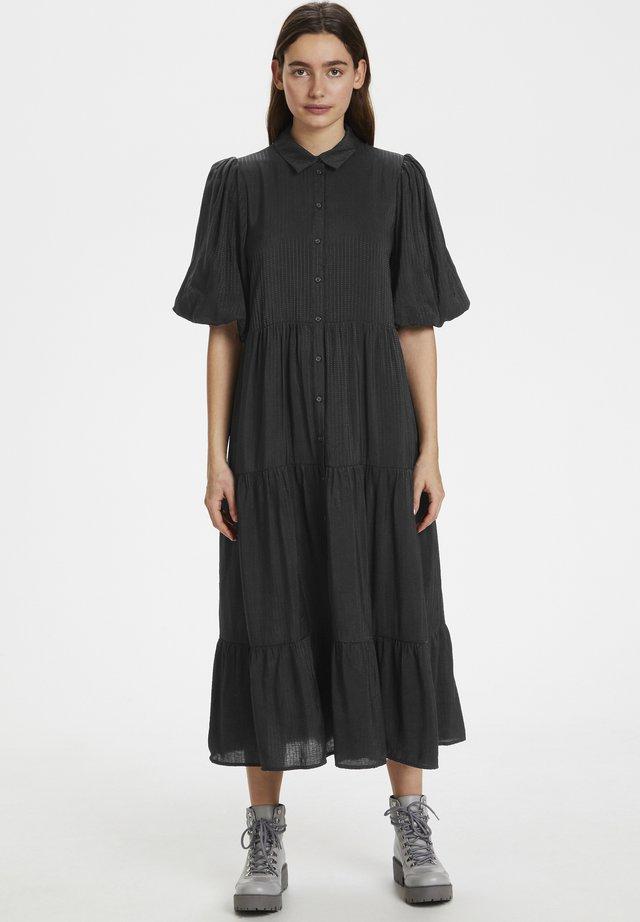 KIRITAGZ - Shirt dress - black