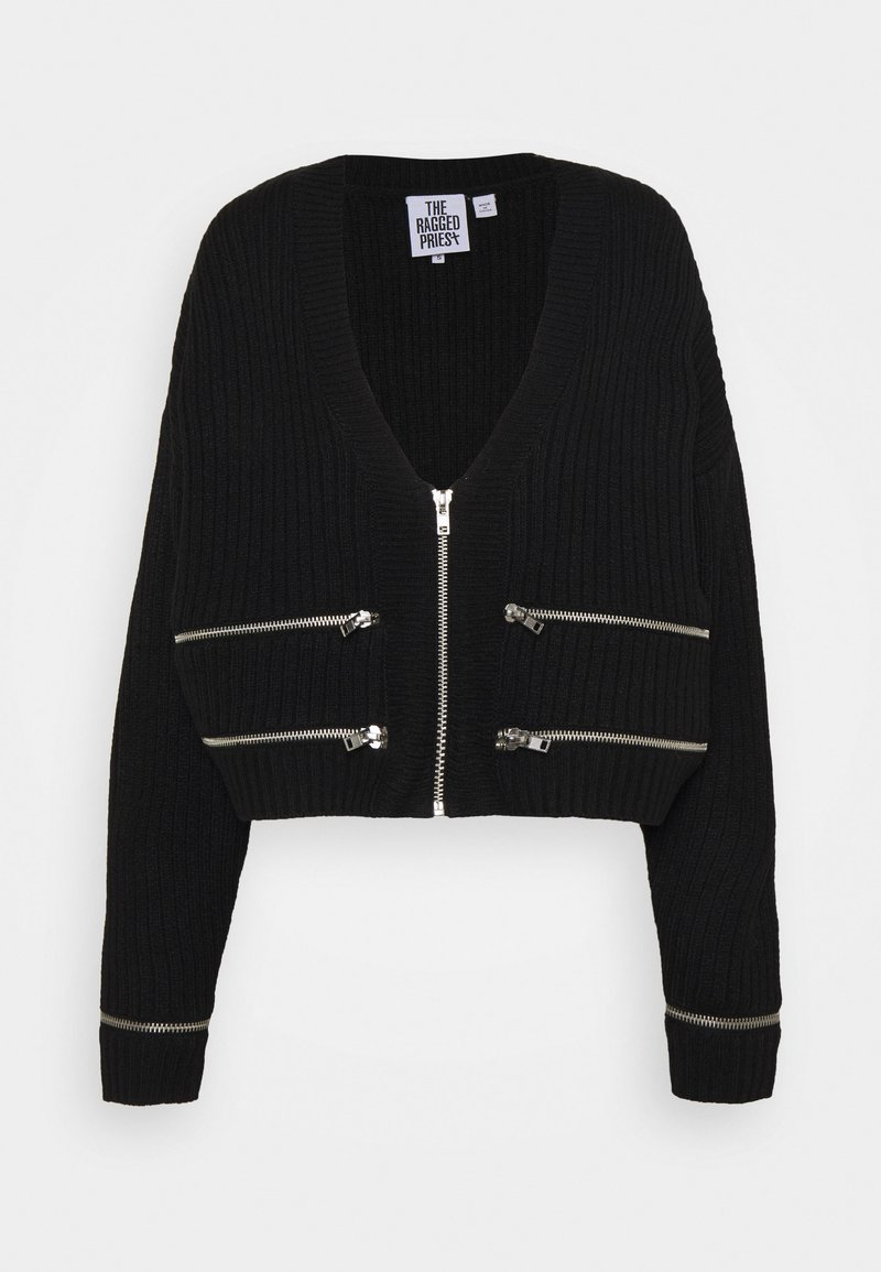 The Ragged Priest - CENSOR - Cardigan - black