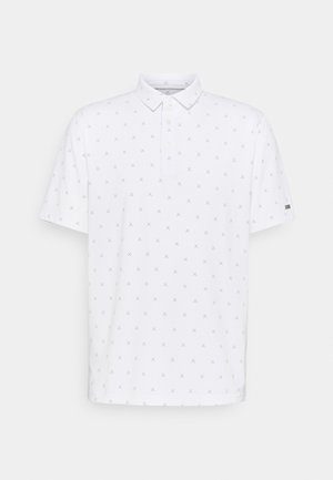 DRY FIT PLAYER X CLUB  - Polo - white/brushed silver