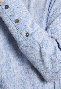 Opus - SEVI - Sweter - blue mood - 4