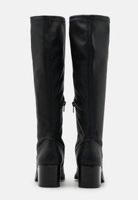 Bianco - BIAABBIE LONG BOOT - Vysoká obuv - black - 3
