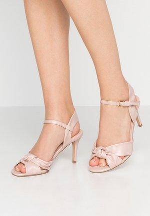 BREEZE - Højhælede sandaletter / Højhælede sandaler - blush
