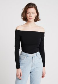 Samsøe Samsøe - Long sleeved top - black - 0