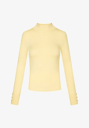 Jumper - pale yellow