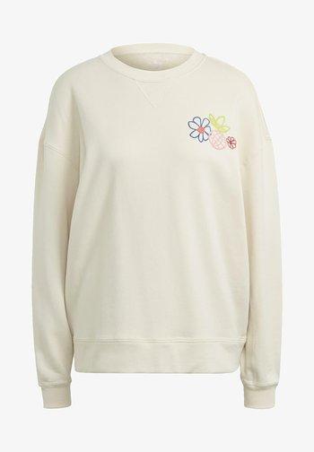 ADICOLOR ESSENTIALS SWEATSHIRT - Sweatshirt - white