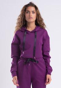 Zoe Leggings - Hoodie - purple - 0