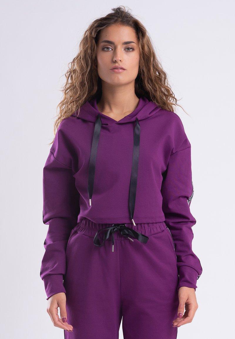 Zoe Leggings - Hoodie - purple