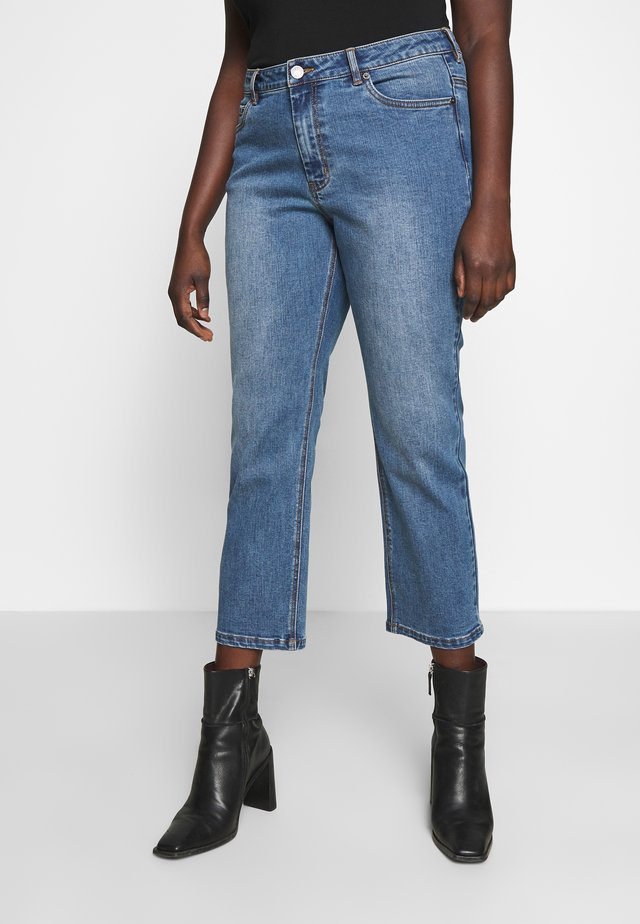 DALY - Vaqueros slim fit - heavy denim wash