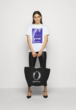 VOICES LOGO SHOPPER - Torebka - black