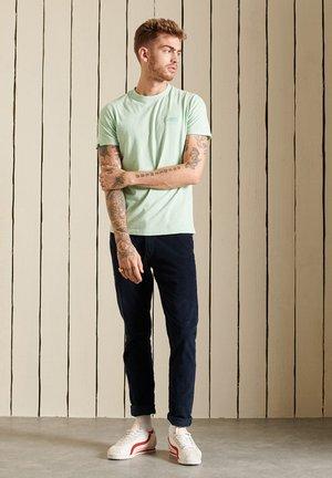 ORGANIC VINTAGE  - Basic T-shirt - light aqua jaspe