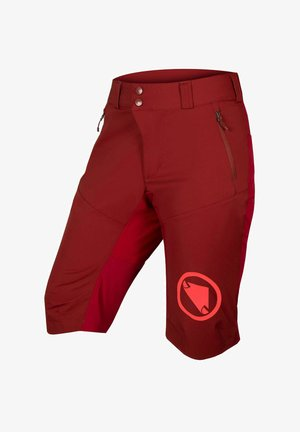 MT500 SPRAY - Sports shorts - dunkelrot