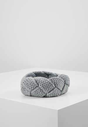 STIRNBAND - Ear warmers - silver grey melange