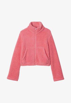 Fleece jacket - rosa - u - candy pink
