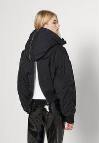Weekday - REEVES JACKET - Light jacket - black solid - 3