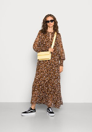 VIFALIA ANCLE DRESS - Maxi dress - toffee