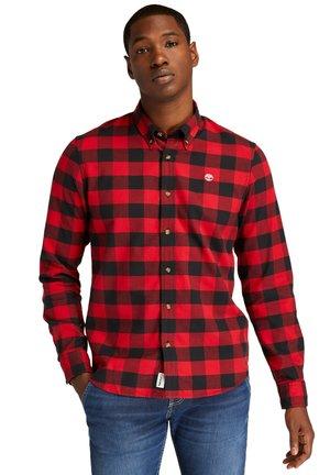 SLIM  - Shirt - scarlet sage yd