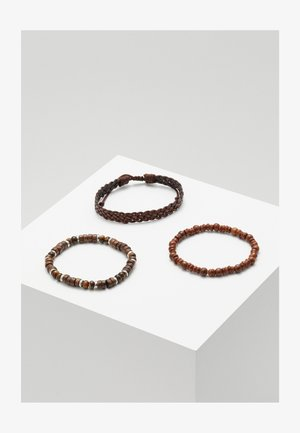 YALLAHS COMBO 3 PACK - Bracelet - brown