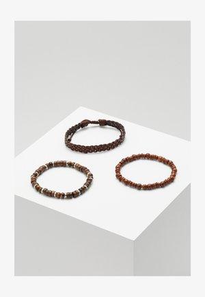 YALLAHS COMBO 3 PACK - Armband - brown