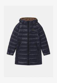 Blauer - IMPERMEABILE TRENCH LUNGHI - Down coat - dark blue - 0