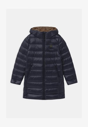 Down coat - dark blue