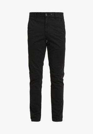 FIT 2 CLASSIC CHINO - Chino kalhoty - black