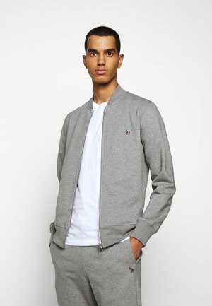 MENS ZIP - Hettejakke - mottled grey