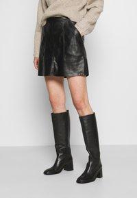 Vero Moda - VMSYLVIA SKIRT - A-line skirt - black - 0